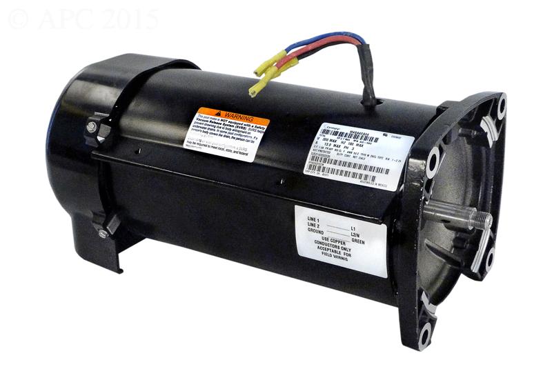 Hayward Oem Motor Assembly For Ecostar Pumps Spx3400z1ecm