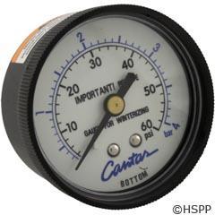Pressure Gauge 0-60# 1/4 CBM - Generic