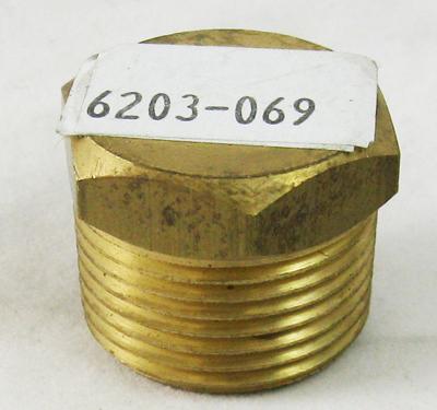 Brass Plug,  3/4