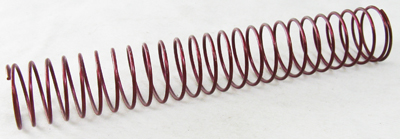 By-Pass Valve Spring, Red 175