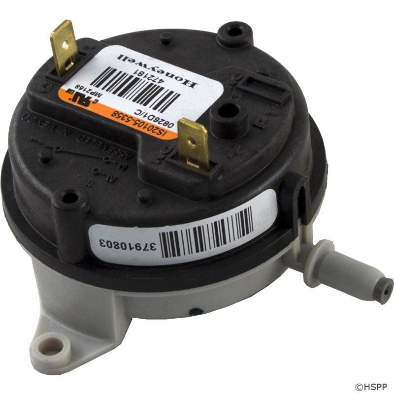 Pentair Air Pressure Switch 250 Ng Nt 472181