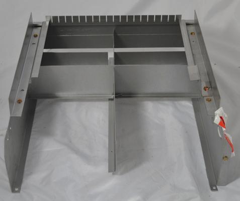 Raypak model 265 Burner Tray w/o Manifold w/o burners