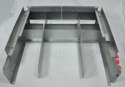 Raypak model 335 Burner Tray w/o Manifold w/o burners