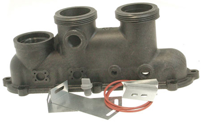 Raypak Inlet/Outlet Header (includes 6-H)