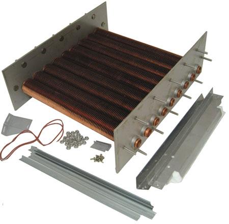 Raypak model 185 Polymer Tube Bundle