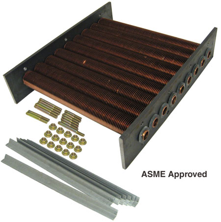 Raypak model 185 Tube Bundle ASME