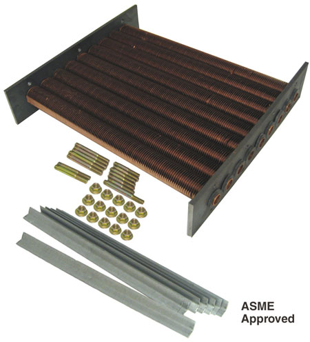 Raypak model 265 Tube Bundle ASME