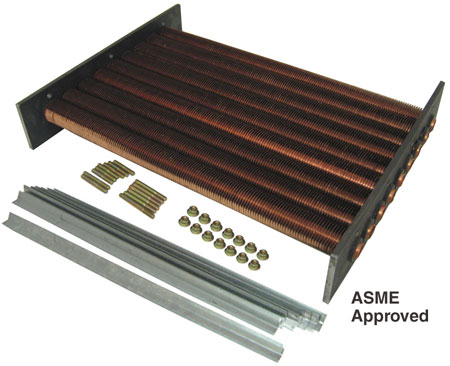 Raypak model 335 Tube Bundle ASME