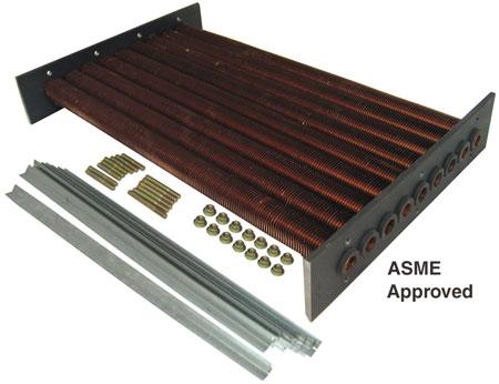 Raypak model 405 Tube Bundle ASME